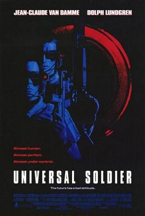 van damme is a soldier in inuversal soldier