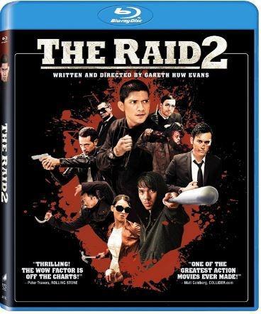 the raid 2 on blu ray