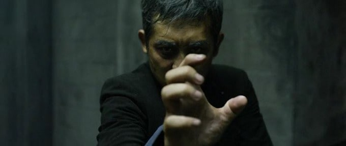 sunny pang in a scene from headshot.