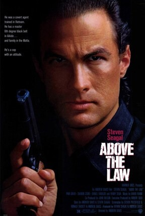 steven seagal in above the law