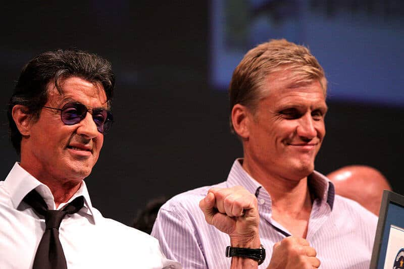 Sly and Dolph are long time friends