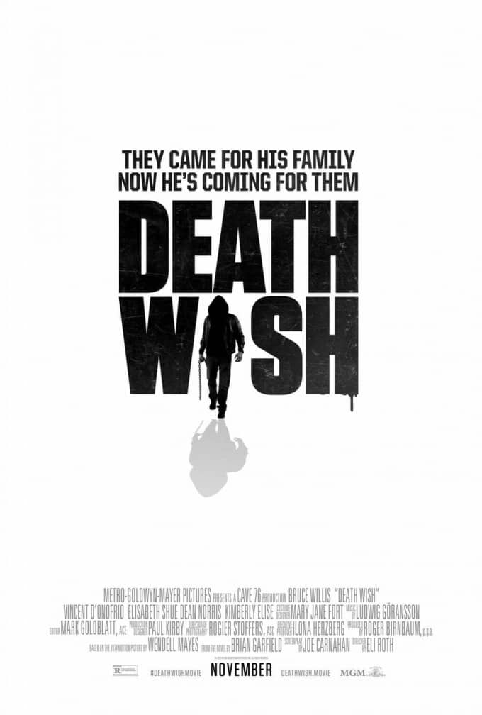 death wish starring bruce willis
