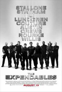 Dolph Lundgren stars in the expendables