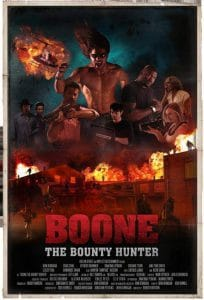 another movie poster for Boone the bounty hunter