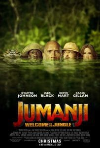 jumanji welcome to the jungle movie poster