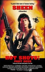 charlie sheen in hot shots: part deux