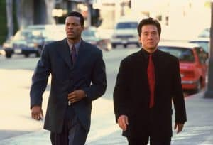 jackie chan and chris tucker in'rush hour'